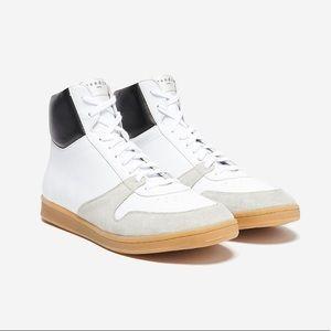 SANDRO BX-01 High-Top Sneakers Sz 12.5US / 45EU